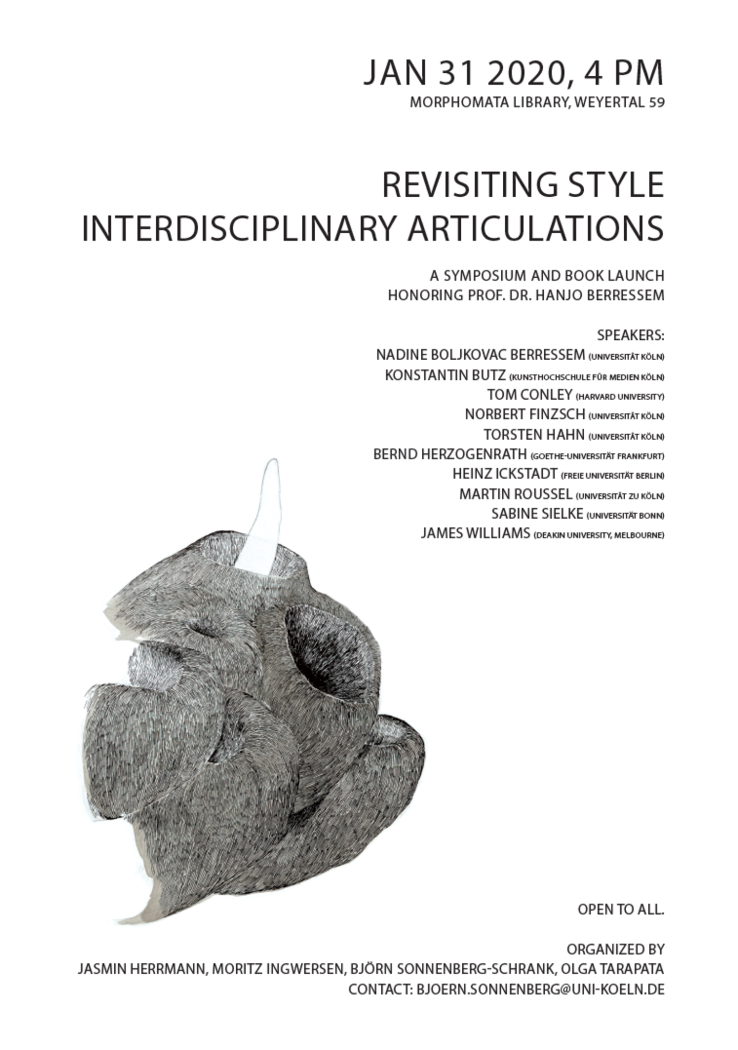 Poster for the Symposium: Revisiting Style